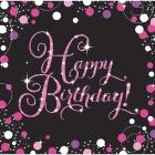 Happy Birthday  salvetes 33 x 33 cm 20.gab