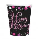 Happy Birthday  papīra  glazites 250ml 8.gab