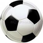 Šķīvji ar attelu. Tema - Futbols, 23 cm, 8 gab