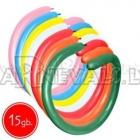 Baloni veidošanai (tvistingam), izmērs Q260, iepakojums 15 gb., krāsas sortimentā