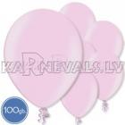 "Metalliks, gaiši roza, 10.5""/27cm lateksa baloni, 100 gab."