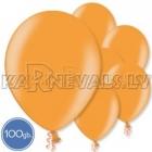 "Metalliks, gaiši oranža, 12""/30cm lateksa baloni 100.gab."