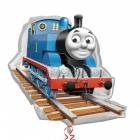 """Folijas hēlija balons """"Vilciens Tomass"""", izmērs 74 x 69 cm,"""