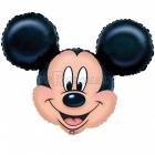"""Folijas hēlija balons """"Peļuks Mikijs"""", izmērs 71 x 58 cm,"""