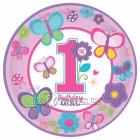1 Dzimšanas diena šķīvji