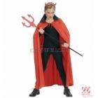 Sarkans apmetnis Helovīniem,  110cm