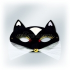 Karnevāla maska - melna  PANTERA
