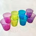 Plastmasas glāzītes 250 ml., 4 dažādas krāsas, 8 gab.
