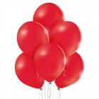 """12""""/30cm lateksa baloni Pastelis Sarkans 6 gab."""