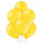 "12""/30cm lateksa baloni Pastelis Koši Dzeltens 6 gab."