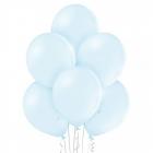 "12""/30cm lateksa baloni Pastelis Ledus Zils 6 gab."