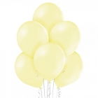 "12""/30cm lateksa baloni Pastelis Lemon Dzeltens 6 gab."