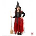 RAGANA melna-burgundija kleita, cepure 98 cm 1-2 gadi