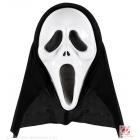 KLIEDZOŠA SPOKU  maska ar kapuci