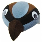 Zvirbuļa cepure - bērnu karnevāla cepurīte, filca