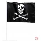 Pirātu karogs 43 x 30 cm