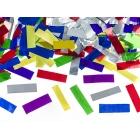 Konfeti plaukšķene, krāsaina folija, 60cm