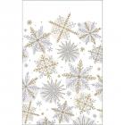 """Galdauts """"Spīdošs sniegs"""",  papīrs,  259 x 137 cm"""