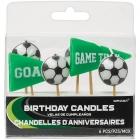 Tortes sveces Futbols, 6 gab. Uz kanapē kociņiem
