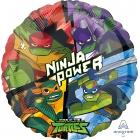 """Folijas hēlija balons """"Mutant Ninja Turtles"""", 43 cm"""