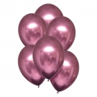 Hroma baloni rozā krāsa, Satin Luxe, 28cm, 6 gab.