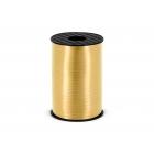 Zelta dāvanu iesaiņošanas lente 5mm x 225 m