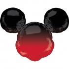 Folijas hēlija balons Mickey Mouse ar ombré efektu, 68 x 53 cm