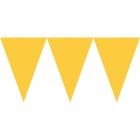 Pennant Banner Sunshine Yellow Paper 457 x 17,7 cm