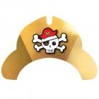 "Svētku cepurītes ""Pirātu karte"", 8 gab"