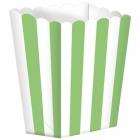 Papīra pakete popkornam 9.5 x 13.5 cm 5. gab
