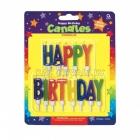 6.3cm sveces tortei, Happy birthday, ar svecturi, 13  gab.