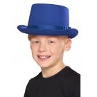 Cilindra cepure zila, bērnu izmērs